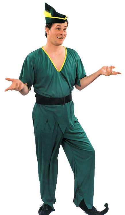 Peter Pan Elf Robin Hood Adult Costume