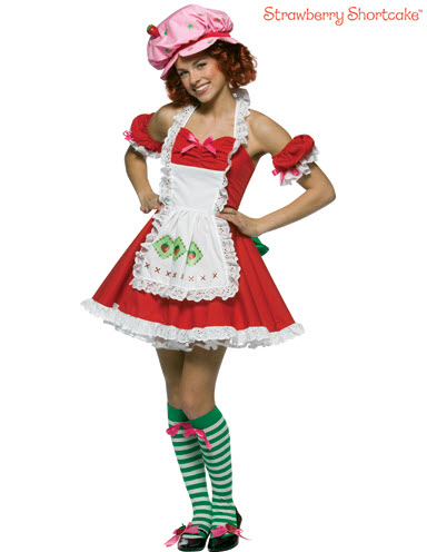 Strawberry Shortcake Teen Costume