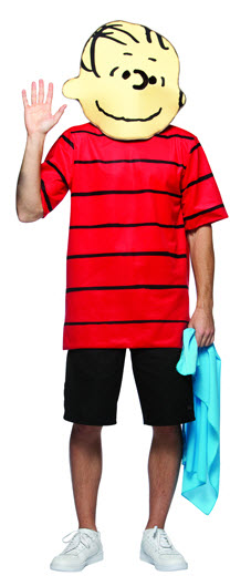 Peanuts Linus Adult Costume - Click Image to Close