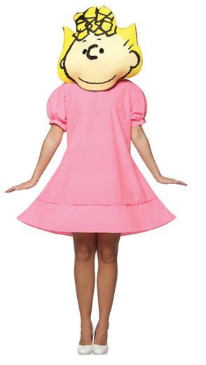 Peanuts Sally Adult Costume