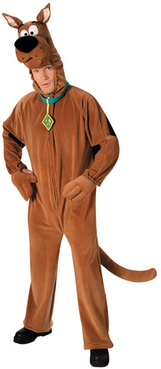 Plush Scooby Doo Costume