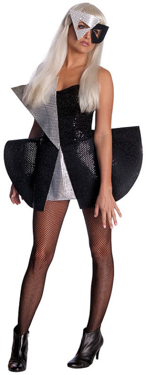 Lady Gaga Sequin Costume