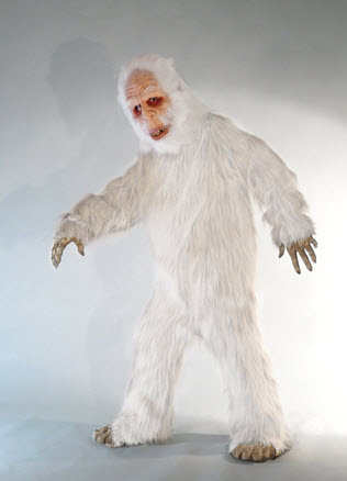 White Sasquatch Adult Costume