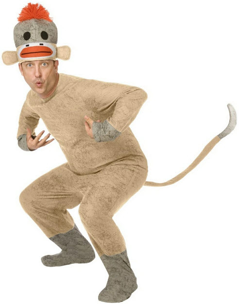 f93982857f5 Sock Monkey Costume - In Stock : About Costume Shop