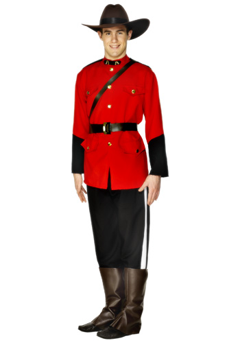 Adult Mountie Costume
