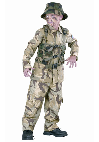 Child Delta Force Army Costume