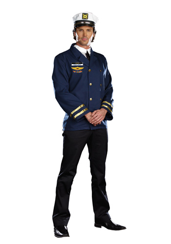 Mens Sailor Captain Costume