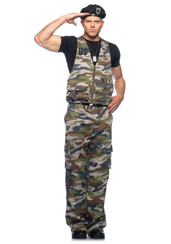 Special Ops Army Officer Costume