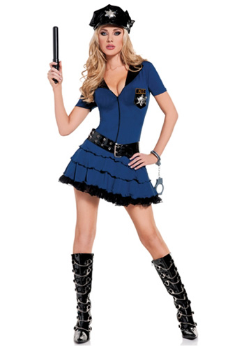 Sexy Police Uniform Costume