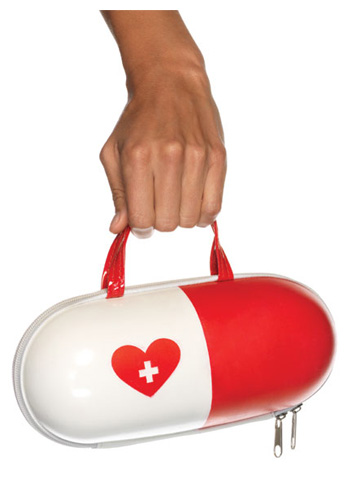 Nurse Pill Purse