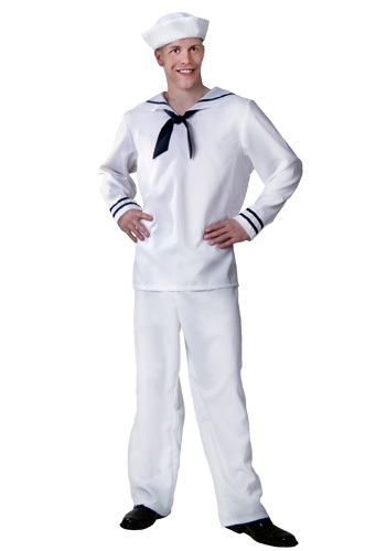Plus Size Mens Sailor Costume