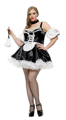 Plus Size Sexy French Maid Costume In Stock About