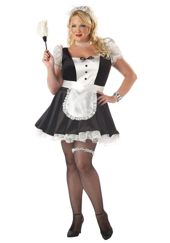 Plus Fiona the French Maid Costume