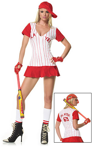 Sexy Baseball Player Costume  sc 1 st  About Costume Shop Halloween Costumes For Adults and Kids Costume ... & Sexy Baseball Player Costume - In Stock : About Costume Shop