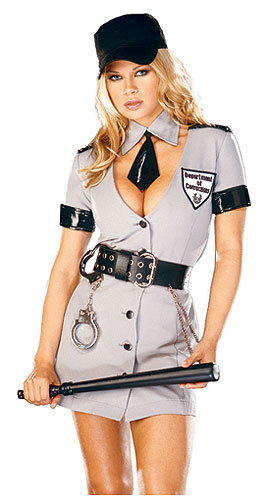 Sexy Corrections Officer Costume