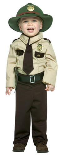 Boy's State Trooper Costume