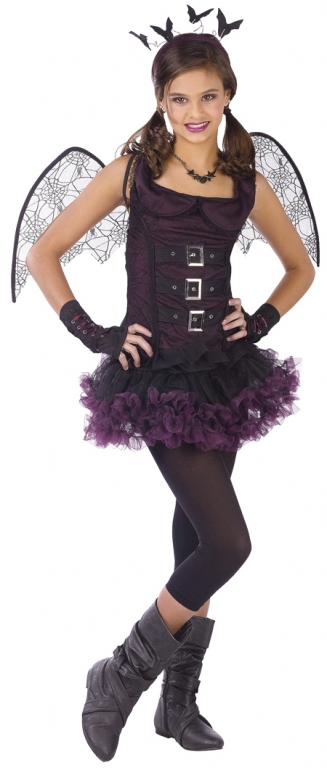 Night Wing Bat Tween and Teen Costume