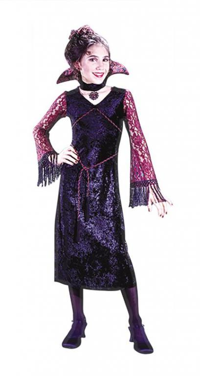 Gothic Lace Vampiress Child Costume