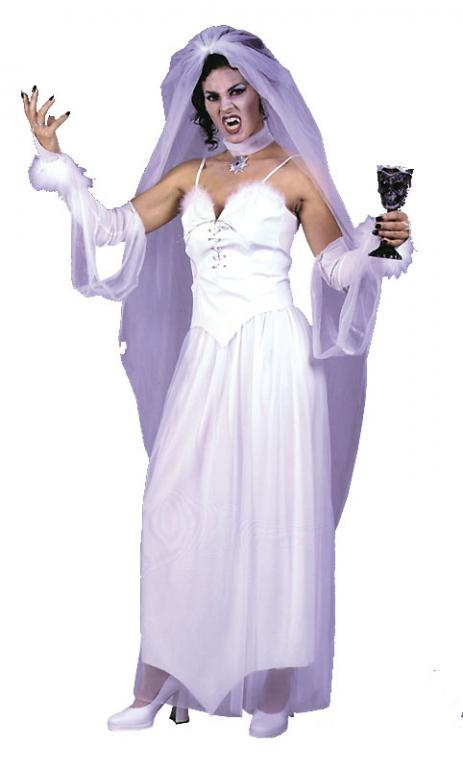 Vampiress Bride Adult Costume