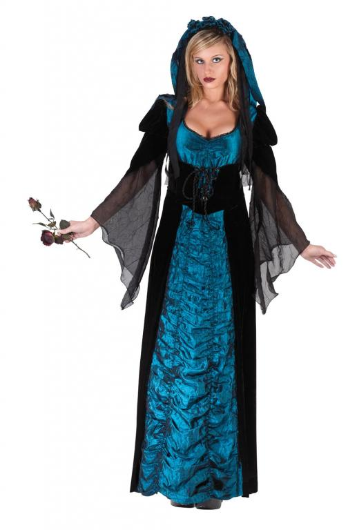 Midnight Coffin Bride Adult Costume