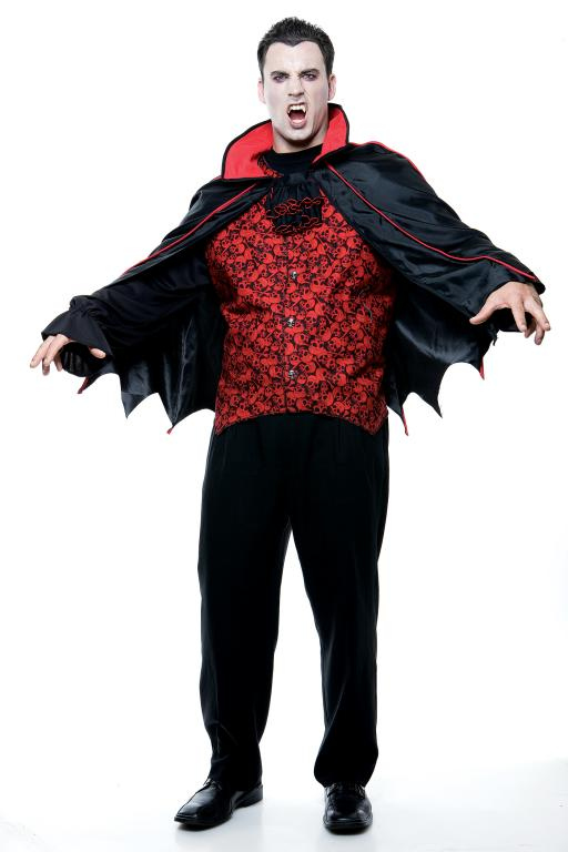 Count Plus Size Adult Costume