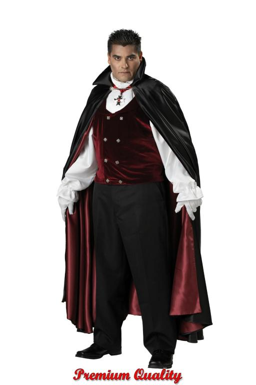 Gothic Vampire Plus Size Adult Costume