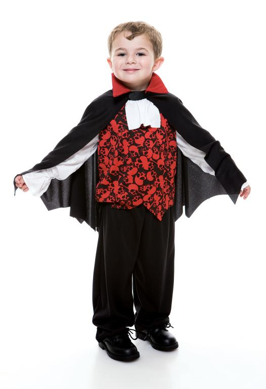 Vampire Toddler Costume 3T-4T