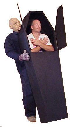 Down For The Count Coffin Costume