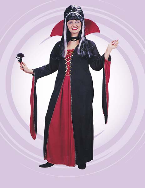 Vampiress Victorian Adult Costume
