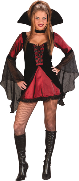 Sweet and Sexy Vampiress Teen Costume