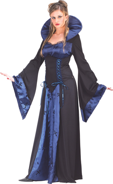 Blue Vampiress Adult Costume