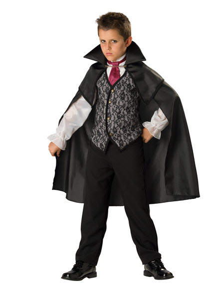 Vampire Count Child Costume