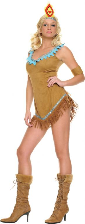 Indian Princess Sexy Adult Costume