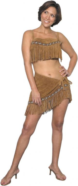 Little Fawn Leather Adult Costume