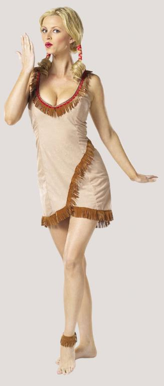 Tribal Tease Adult Costume