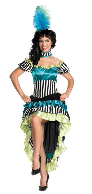 Saloon Girl Moulin Rouge Costume