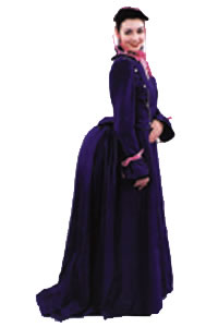 Bustle Dress Adult Costume
