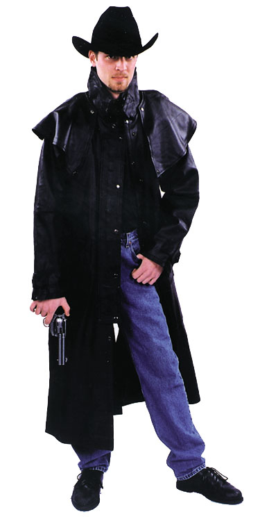 Western Leather Duster Adult Costume