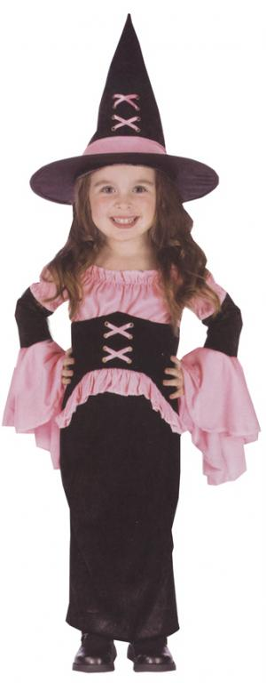 Witch Pretty Pink Toddler Costume
