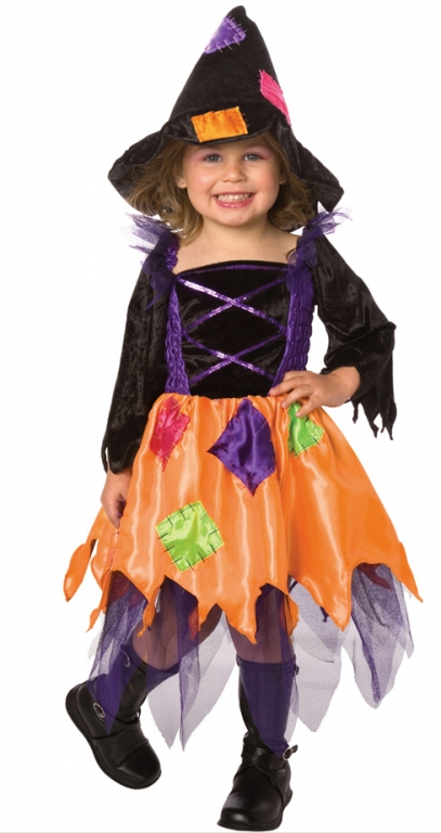 Patchwork Witch Toddler Costume