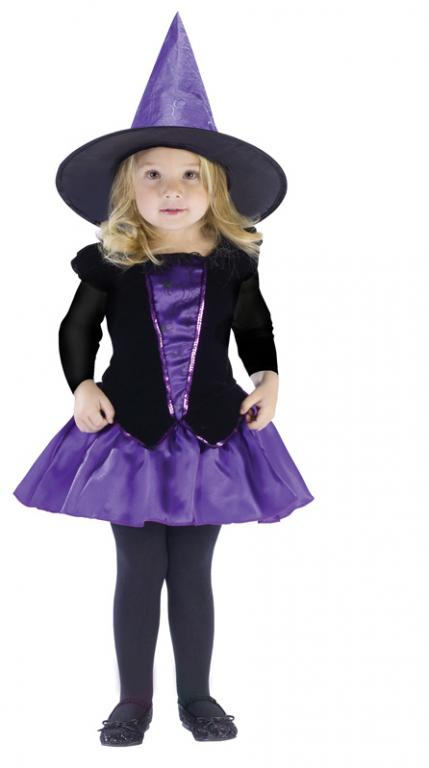 Lil Witch Elegant Toddler Costume