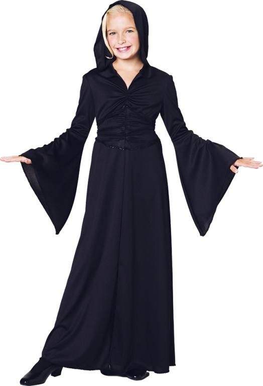 Black Robe Child Costume Medium
