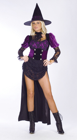Witch Burlesque Sexy Adult Costume