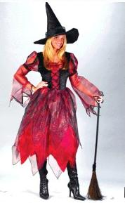 Autumn Witch Adult Costume
