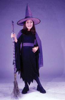 Shimmering Witch Child Costume