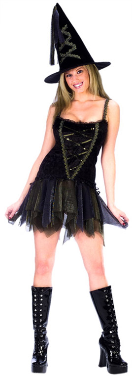 Sexy Flirty Witch Costume