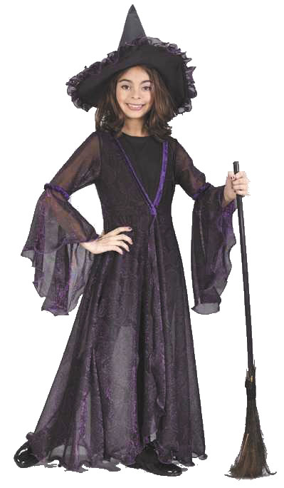 Witch Shimmering Child Costume