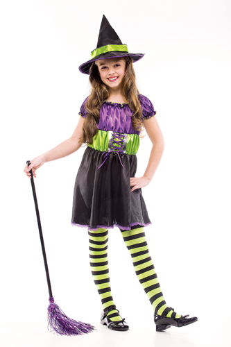 Colorful Witch Costume