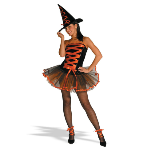 Witchy La Bouf Orange Adult Costume