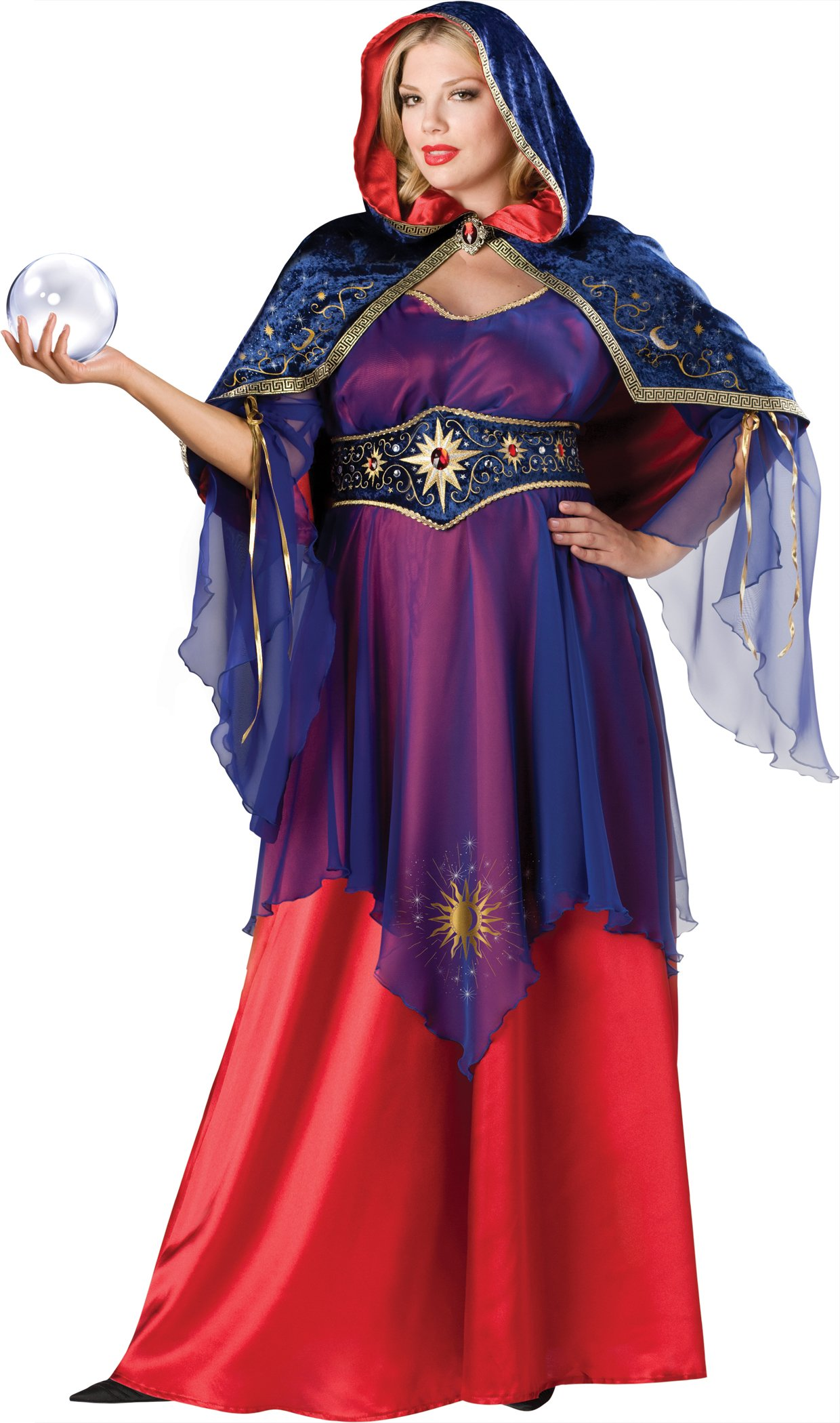 Mystical Sorceress Adult Plus Costume